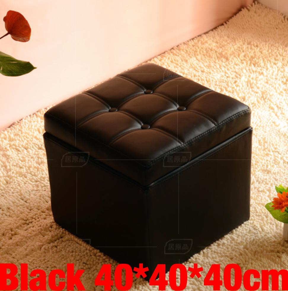 Umd Type C Pu Leather Storage Ottoman Storage Box Storage Bench With Large Storage Capacity Shop