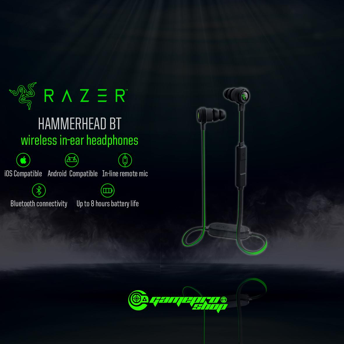 Razer Hammerhead Bluetooth Wireless In Ear Mic Headset Gss Promo Razer Discount