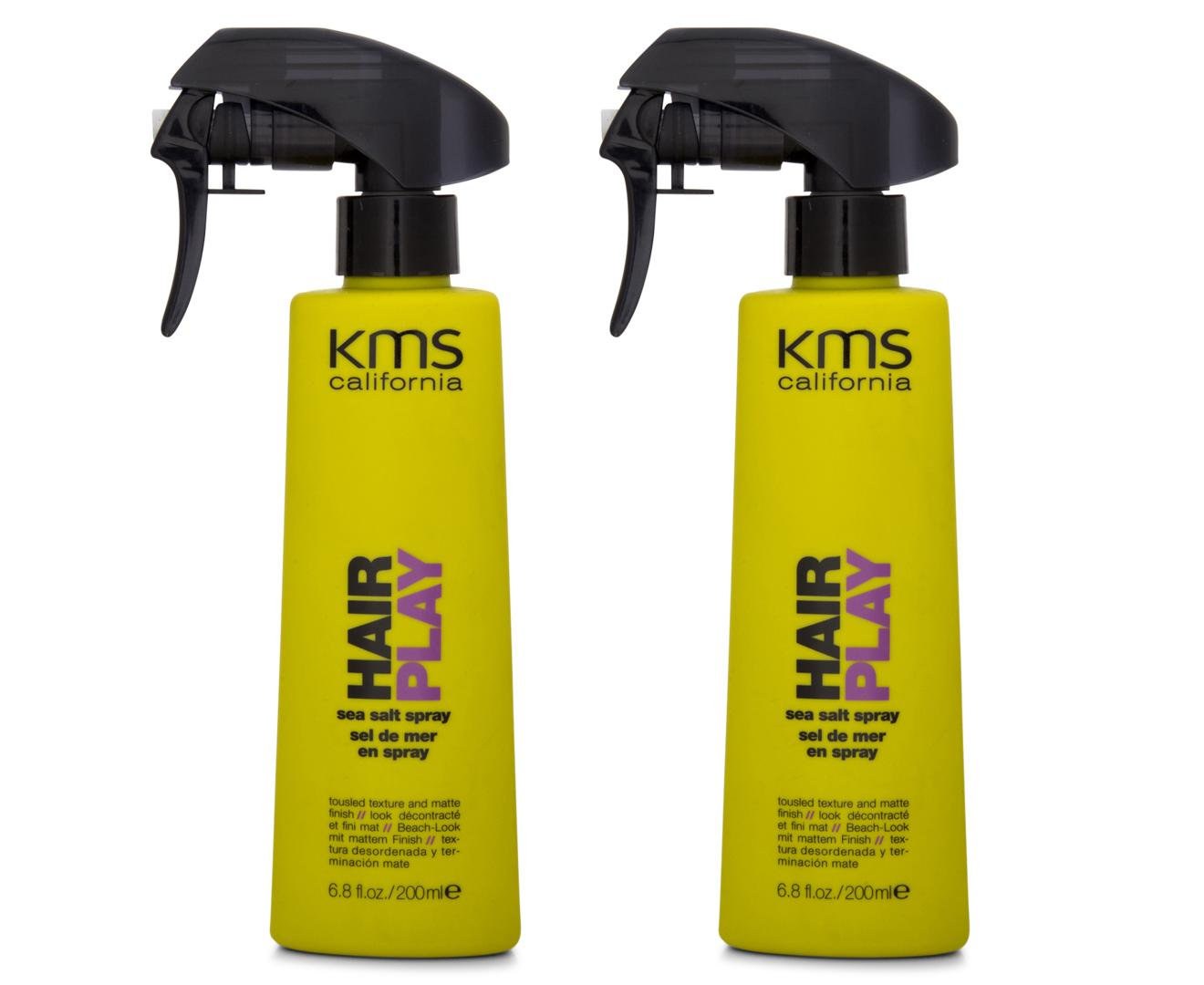2 X Kms California Hair Play Sea Salt Spray 200Ml Shop