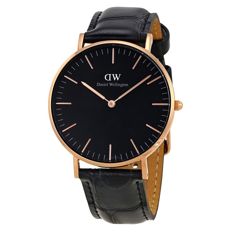 Sale Daniel Wellington 40Mm Classic Black Reading Rose Gold Or Silver Online Singapore