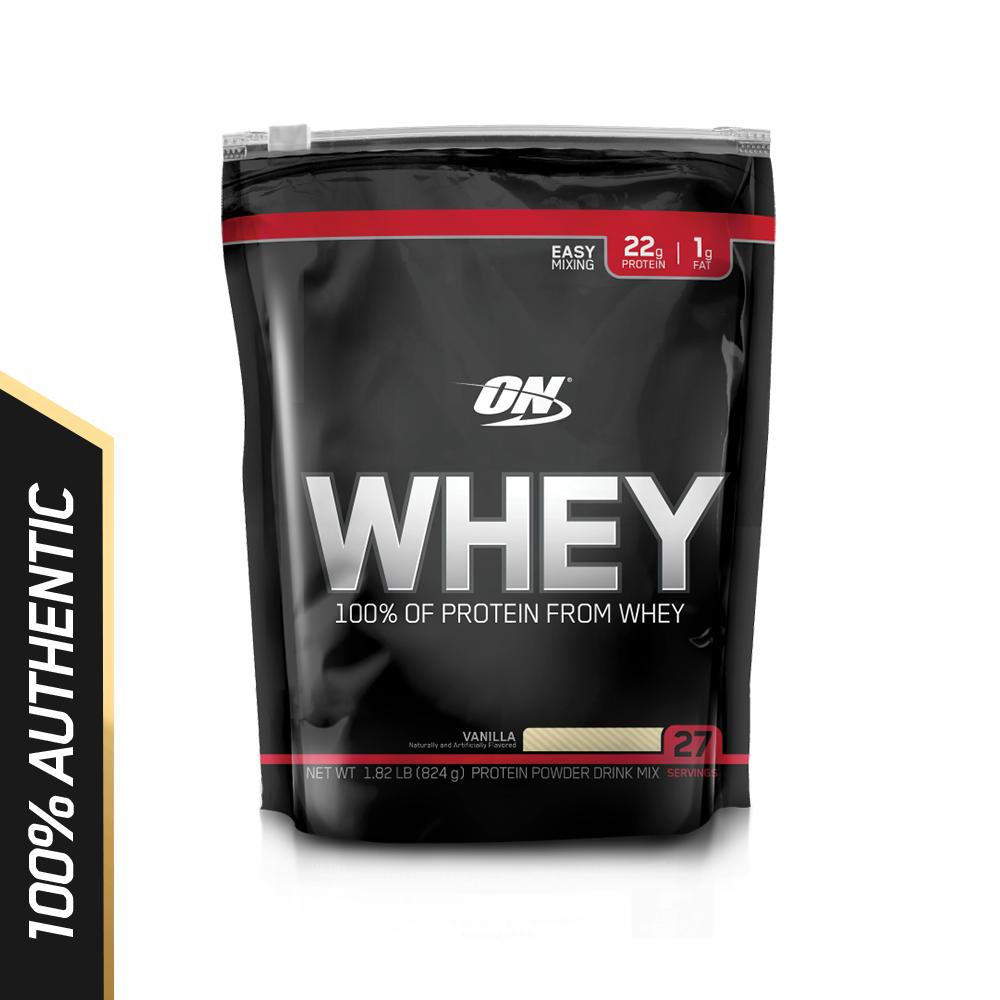 Compare Price Optimum Nutrition Whey 1 8 Lbs Vanilla On Singapore