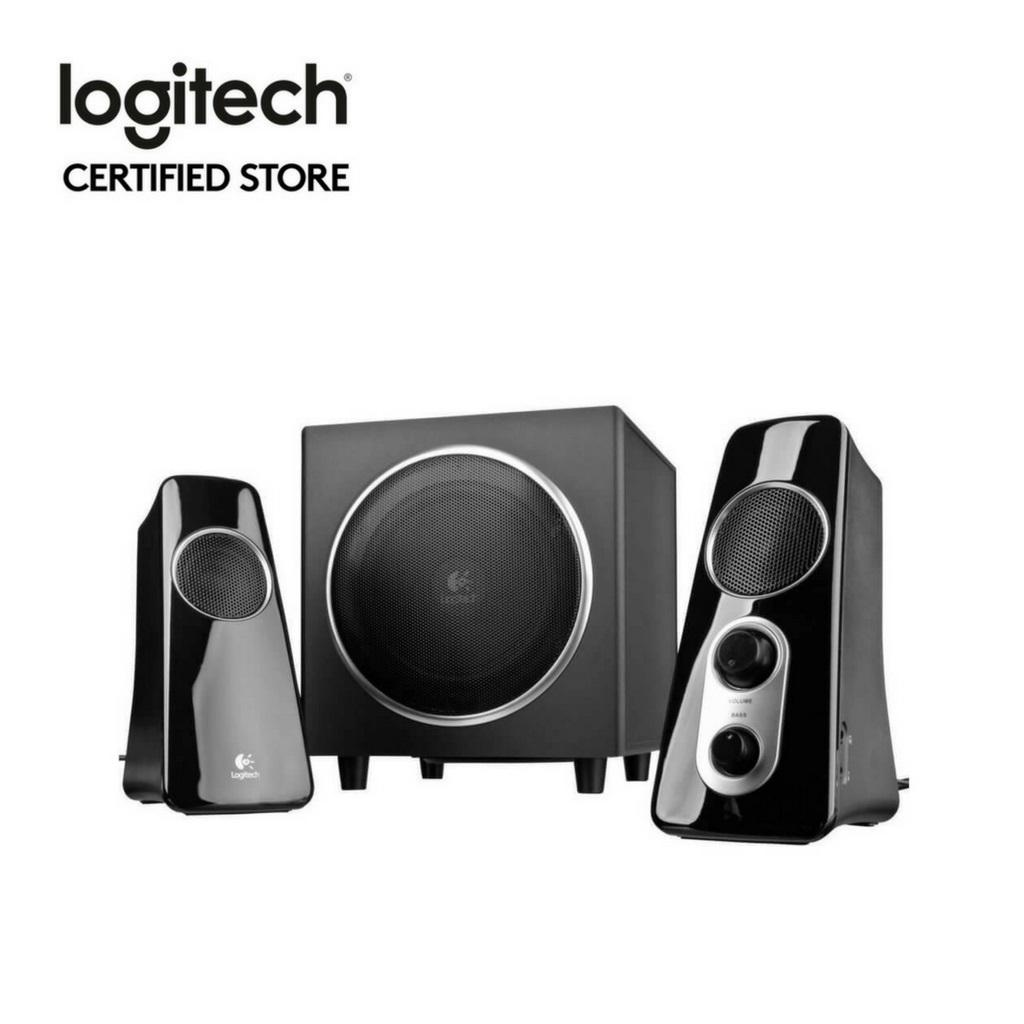 Logitech Speaker System Z523 For Sale
