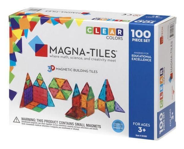 Buy Magna Tiles Clear Colors 100 Piece Set Singapore