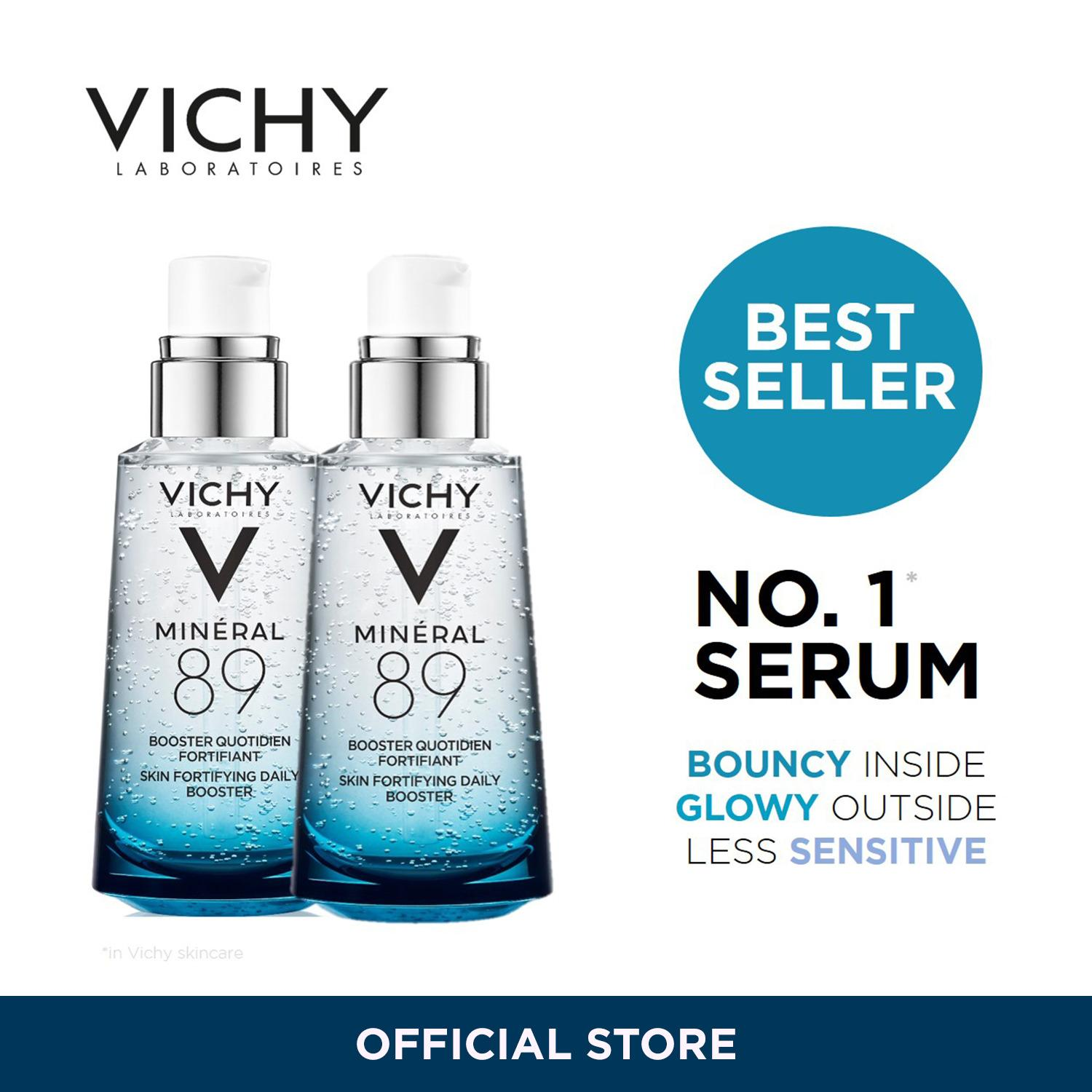 Vichy Mineral 89 Hyaluronic Acid Duo Pack Vichy Cheap On Singapore