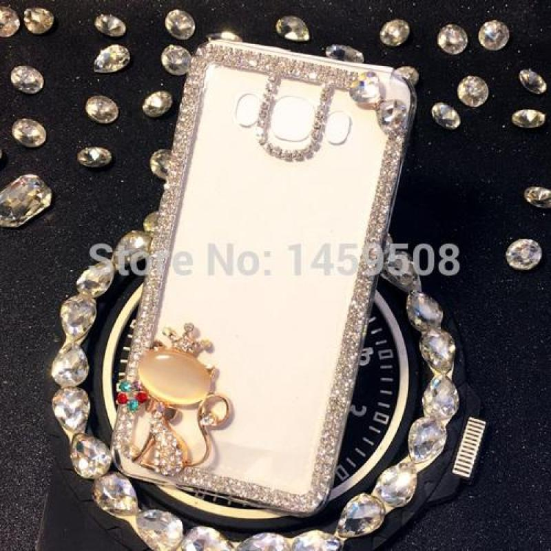 Giá bán Dành cho Samsung Galaxy Samsung Galaxy M20 Ốp lưng Tay Đá Vân Ốp Lưng Pha Lê Kim Cương dương đào Bao Hoa Da Báo Ốp lưng Điện Thoại