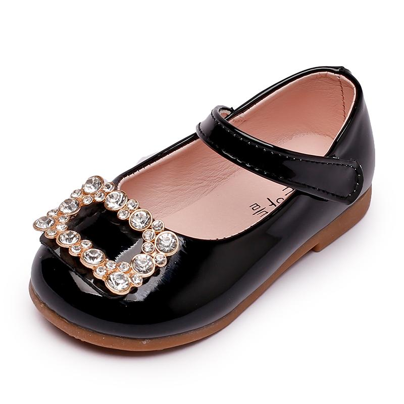 Korean-style Spring and Autumn New style baby's shoes girls small leather shoes