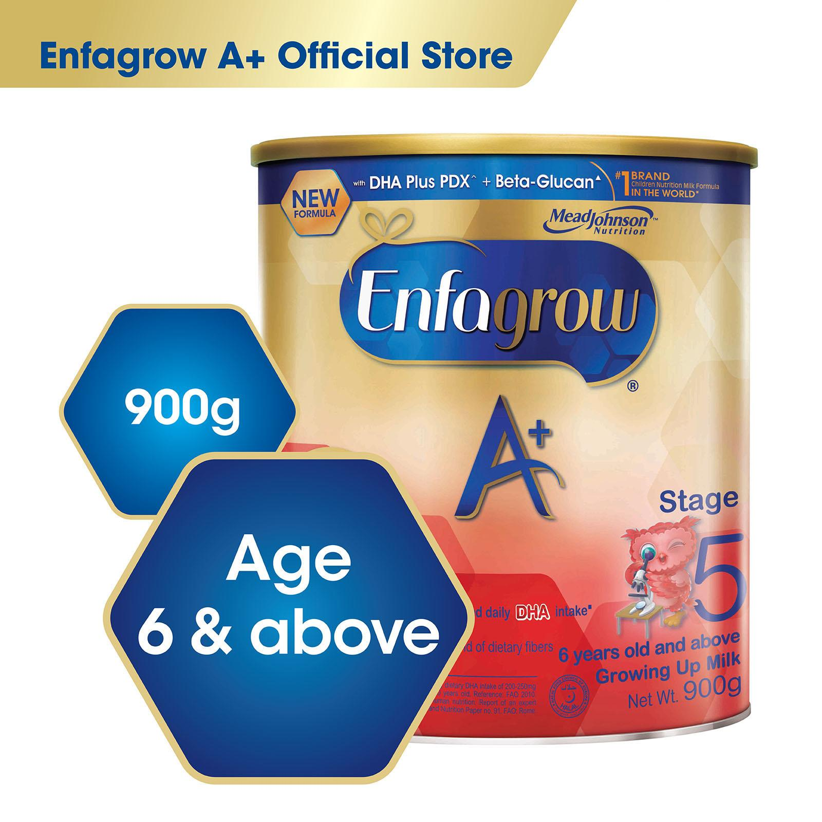 Retail Price Enfagrow A With 360O Dha Plus Stage 5 Milk Formula 900G
