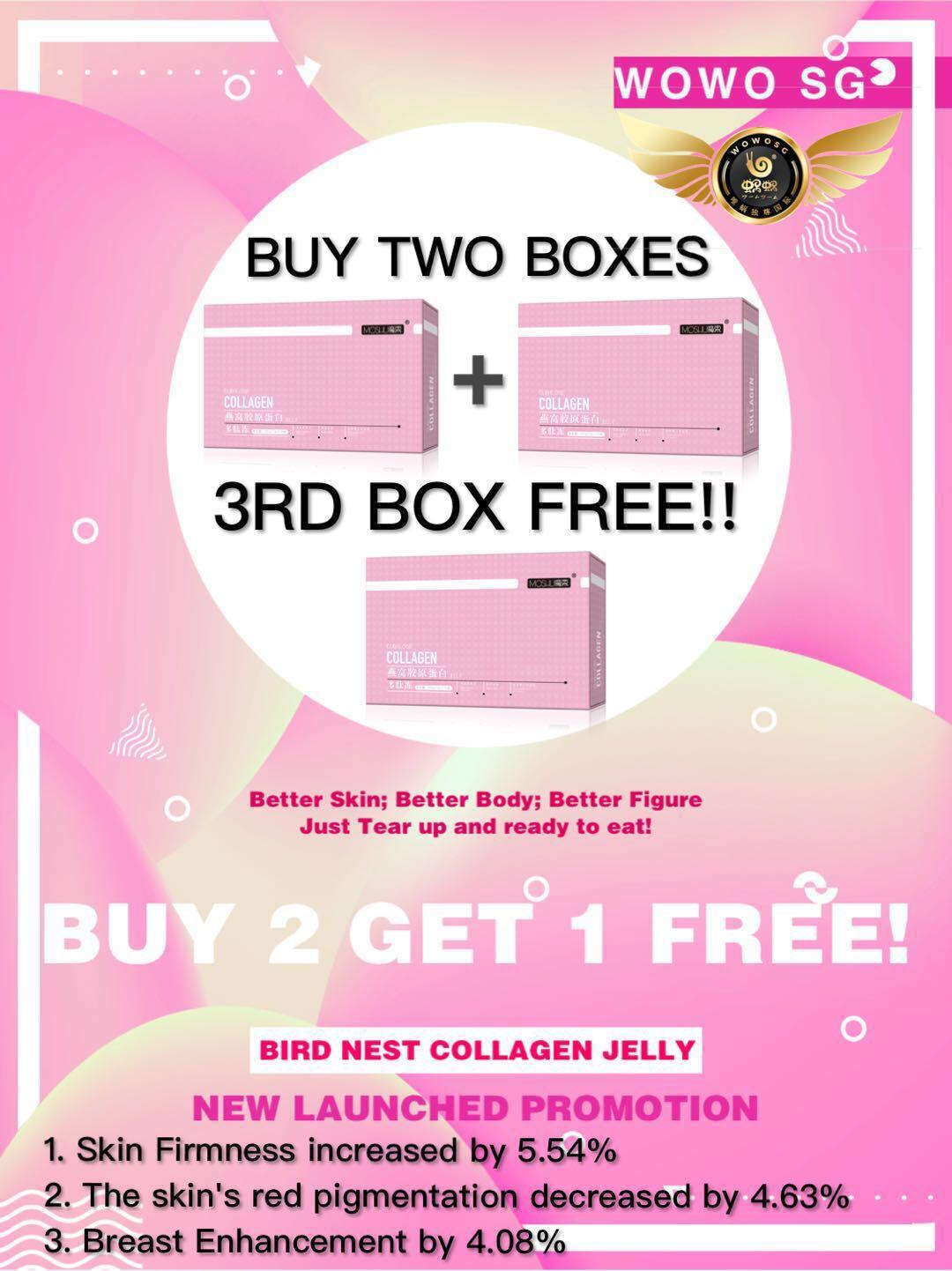 Lowest Price Moshu Cubilose Collagen Jelly