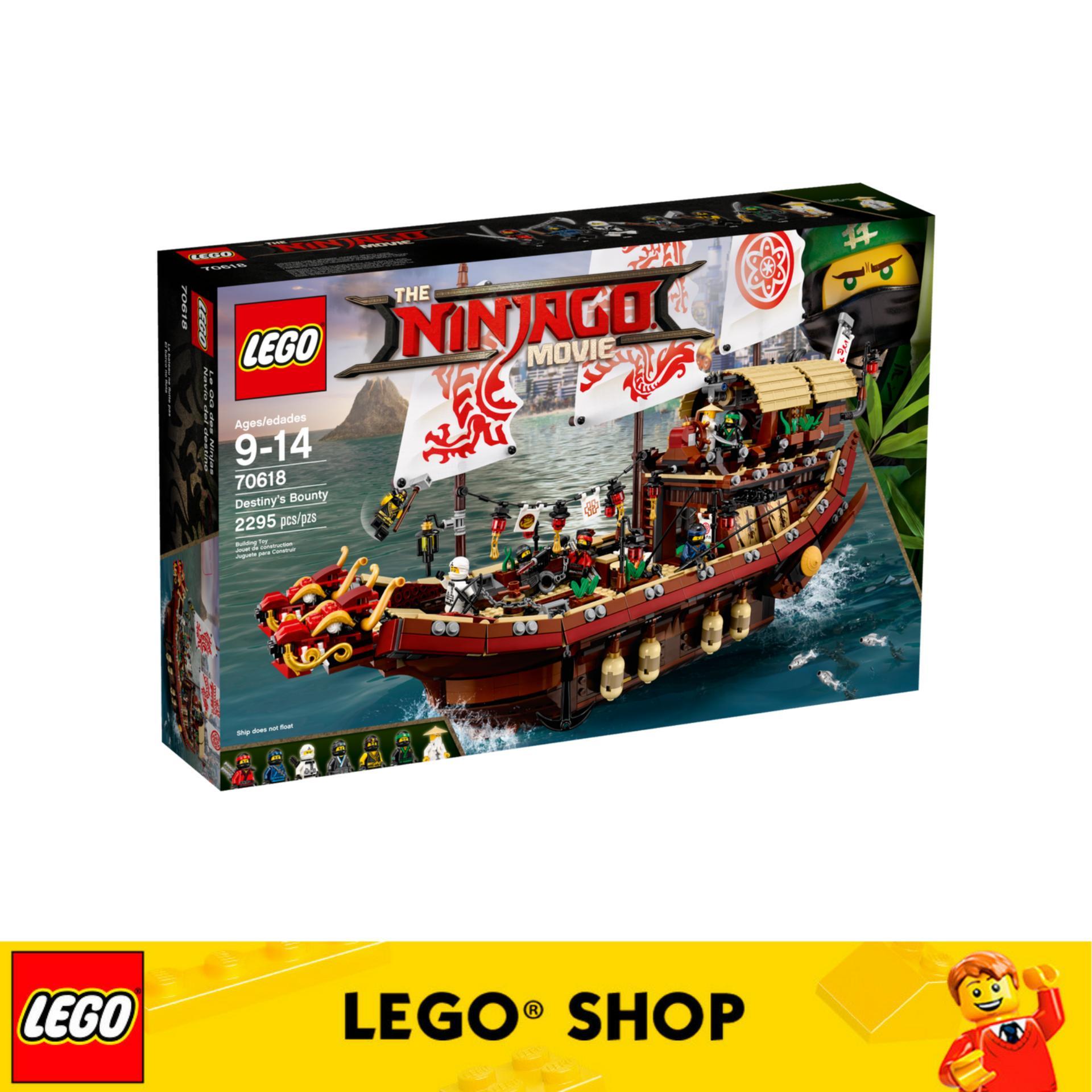 Lego® Ninjago Destiny S Bounty 70618 In Stock