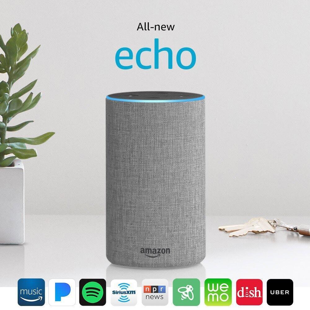 Sale Amazon Echo Gen 2 Black White Grey Amazon Wholesaler