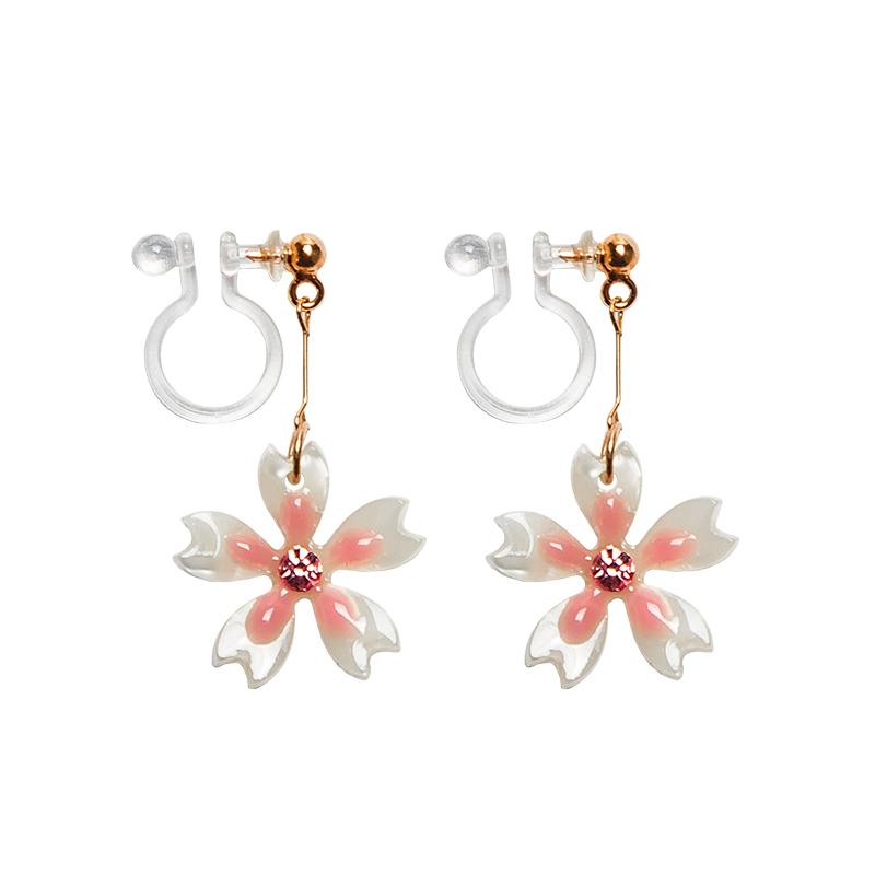 on flower earrings mischka as jewellery earring badgley by pearl clip