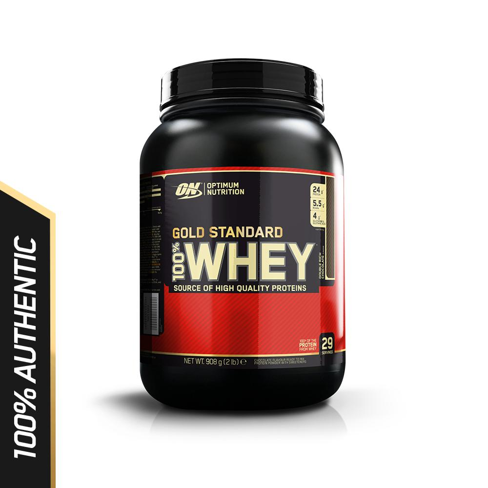 Sales Price Optimum Nutrition Gold Standard Whey 2 Lbs Double Rich Chocolate