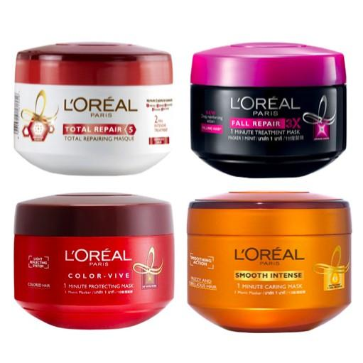 Price L Oreal Hair Mask Smooth Intense L Oreal Original