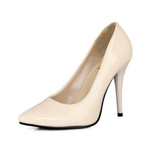 ENMAYER 7 Warna Wanita Stiletto High Heel Shoes Toe Pointed Sexy Wedding Fashion Sexy Landasan Pompa Heels Sepatu Ukuran Besar 34-44