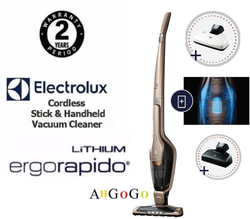 Electrolux 4-in-1 Ergorapido® Bed Pro Power Animal Cordless Stick Vacuum Cleaner ZB3324BP (2yrs warranty) Singapore