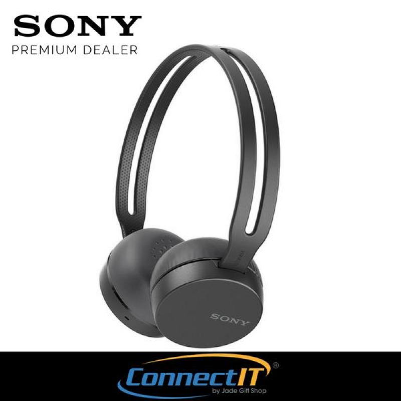 Sony WH-CH400 Bluetooth Wireless On-Ear Headphones For Smartphone (Black) Singapore