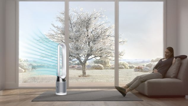 Dyson Pure Cool draught free diffused mode