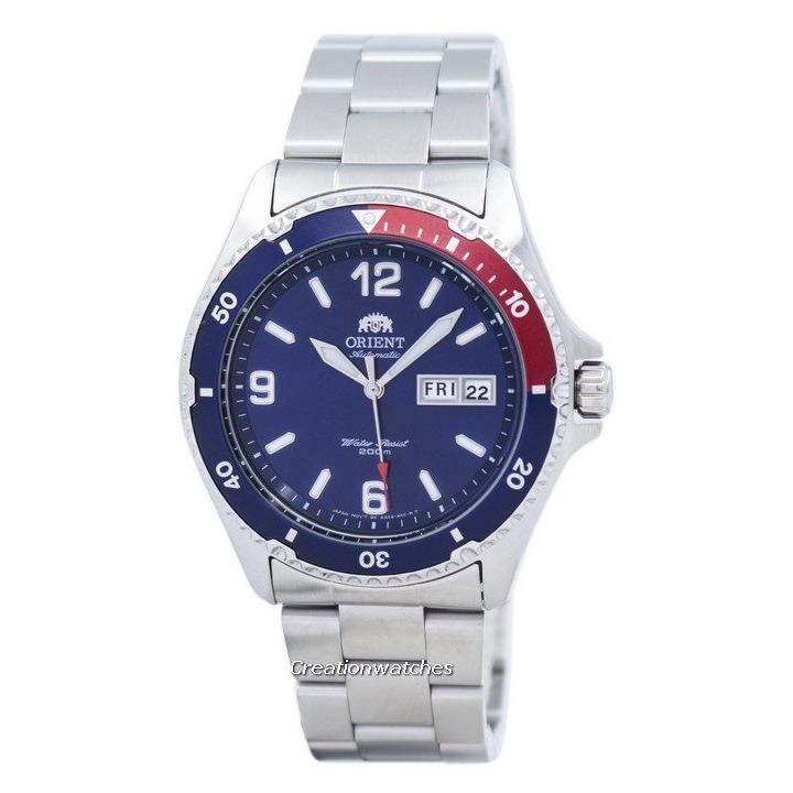 Best Price Orient Mako Ii Automatic 200M Men S Silver Tone Stainless Steel Bracelet Dress Faa02009D9