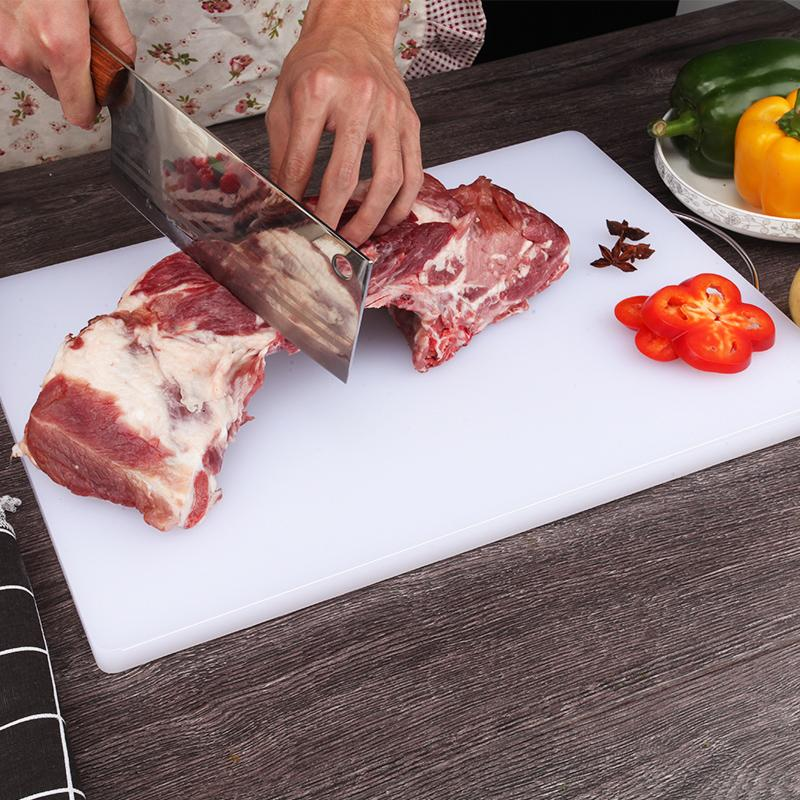 The Size Of The Kitchen Pe Thickened Square Plastic Chopping Board Oem Discount