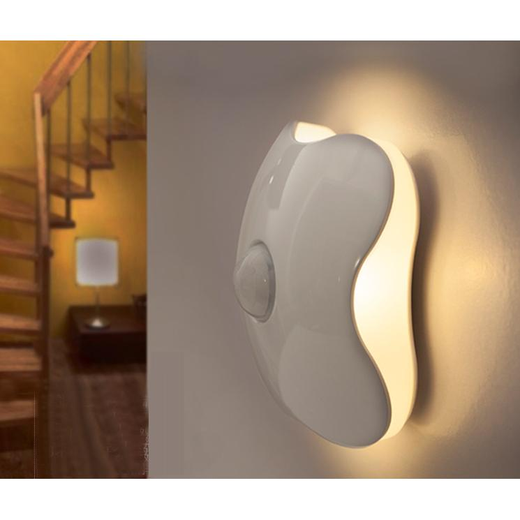 Review Portable Optical Motion Sensor Led Night Light Batteries Included None On Singapore