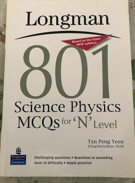 Longman- Science Physics Mcqs For N Level By Buybooks.