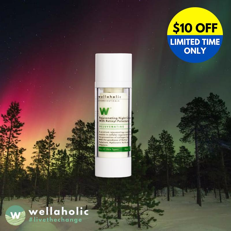 W Rejuvenating Night Cream With Retinol Wellaholic Discount