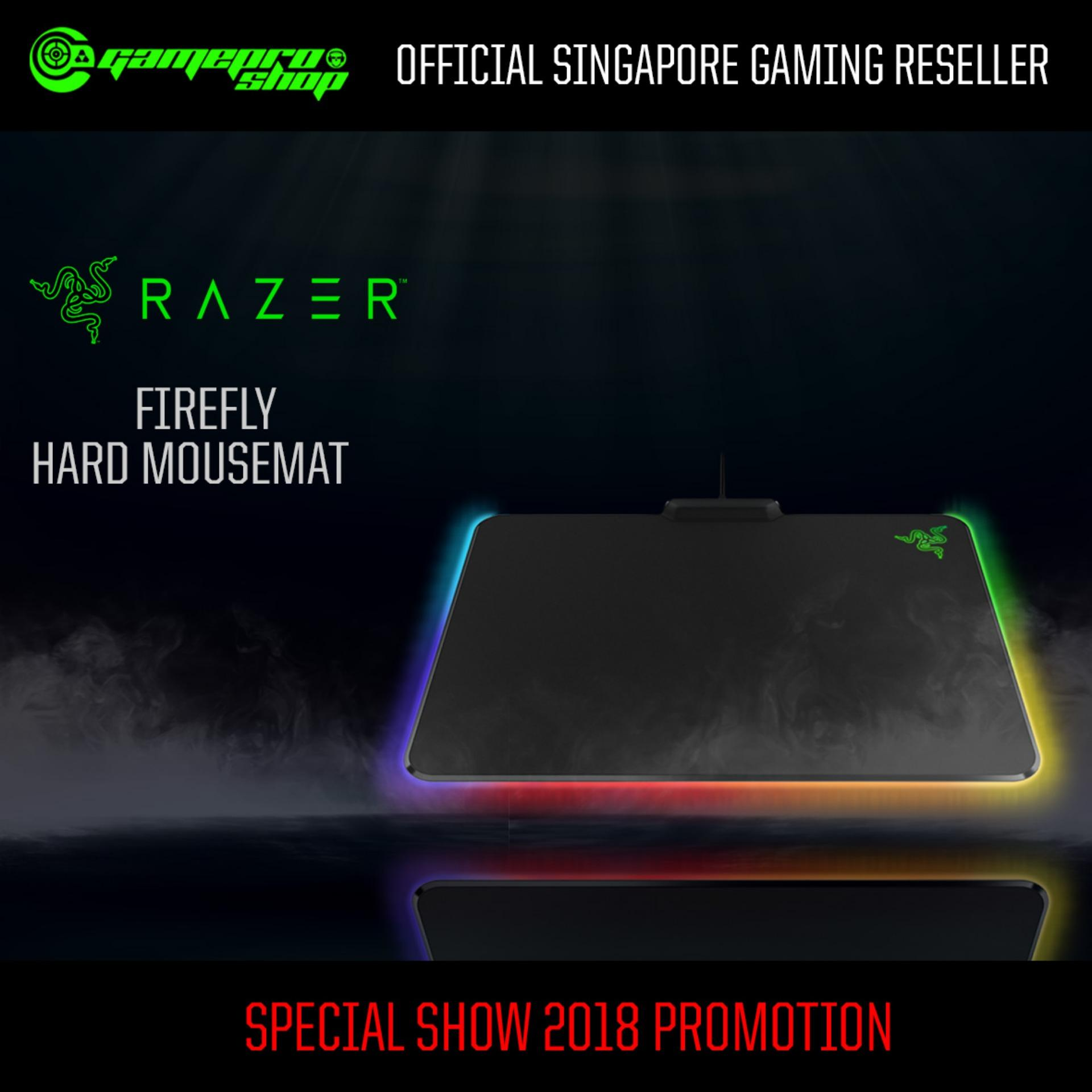Buy Razer Firefly Hard Gaming Mouse Mat Gss Promo Singapore