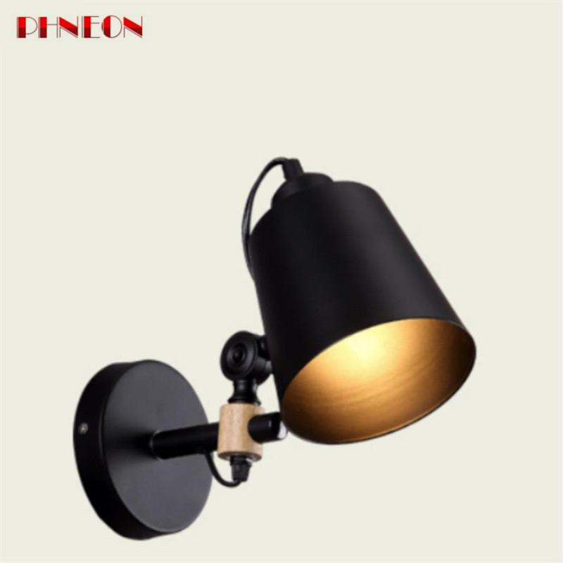 PHNEON Modern Sconce Lighting Wall Mounted Bedside Reading Light Creative Wall Lamp Living Room Foyer Home Lighting Rustic Wall Sconces