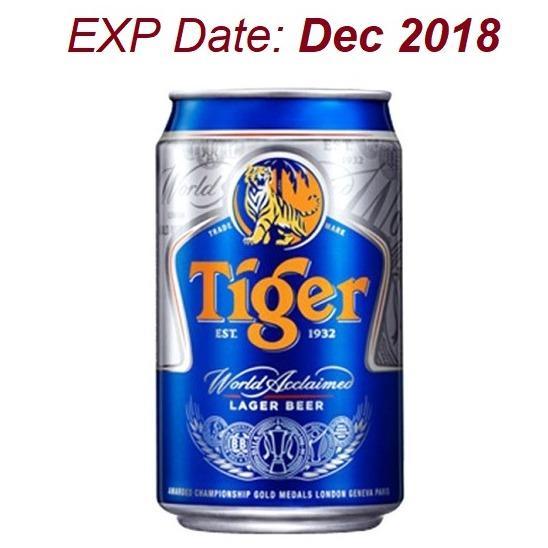 Sale Tiger Beer Cans 24X323Ml Exp Dec 2018 Tiger Original