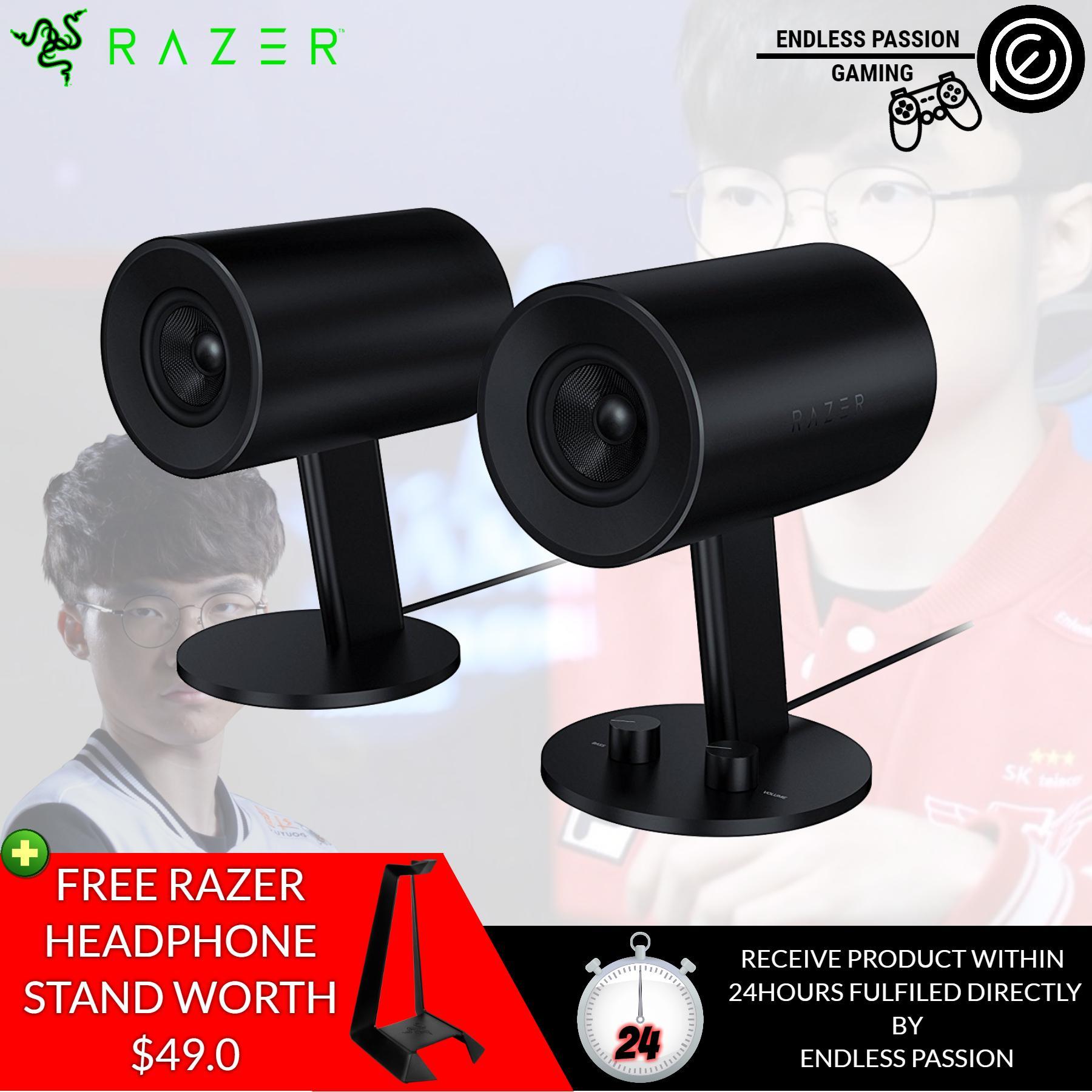 Sale Razer Nommo Full Range 2 Gaming Speakers For Pc Singapore
