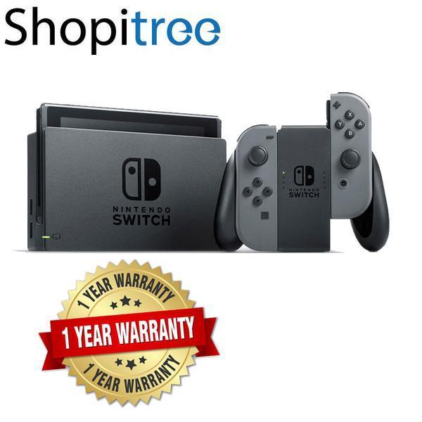 Nintendo Switch Grey Console + 1 Year Local Warranty