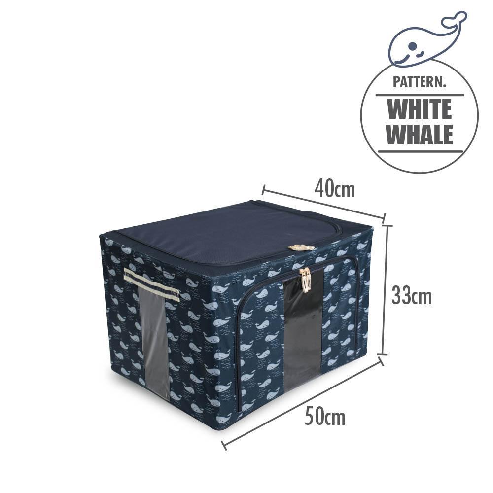 Buy Houze Foldable Storage Box With White Whale Singapore
