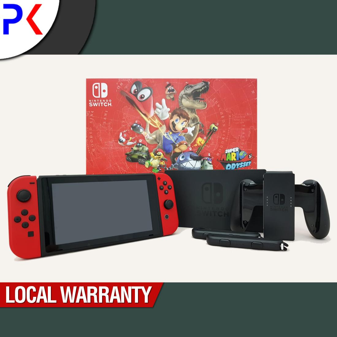 Discount Nintendo Switch Console Mario Odyssey Bundle Singapore