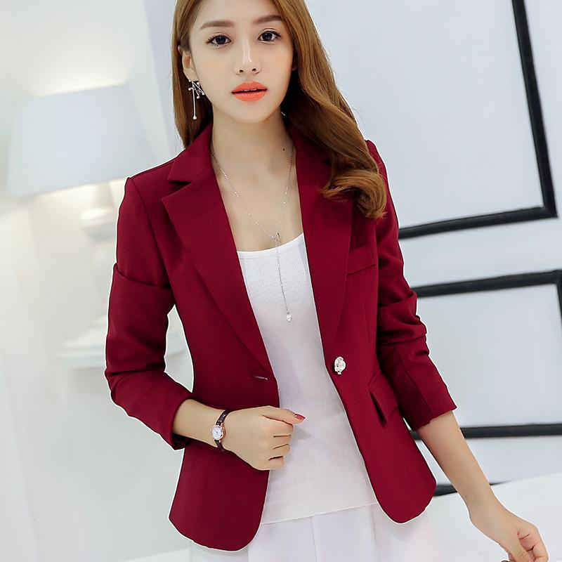 7a24d61c590 Caidaifei Korean Slim fit Long sleeve slimming nv wai tao women s clothes  (Wine red color