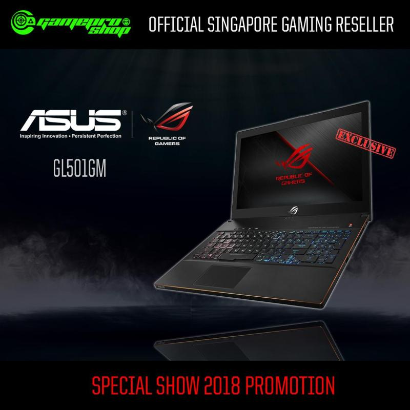 8th Gen ASUS GM501GM EXCLUSIVE (8th-Gen/512GB SSD/GTX 1060 6GB GDDR5) 15.6 With 144Hz Gaming Laptop *GSS PROMO*