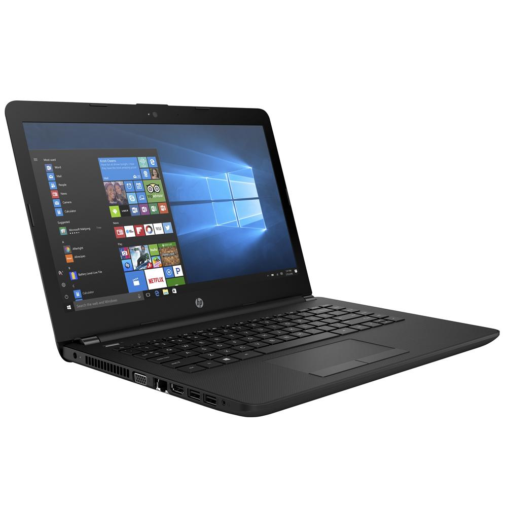 HP 14-bs537TU 14 Laptop Black (N3060, 4GB, 500GB, Intel, W10H)