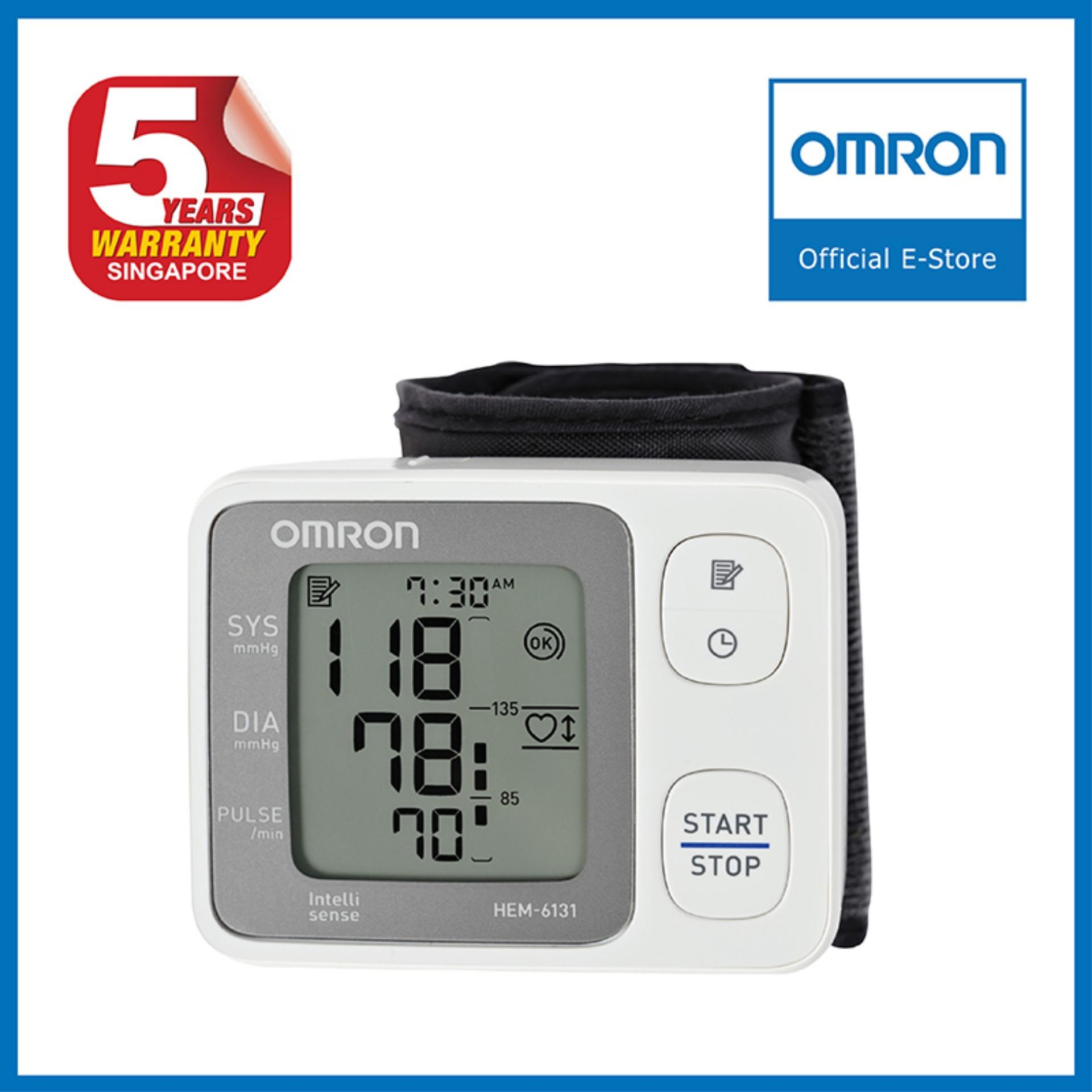 Compare Price Omron Wrist Blood Pressure Monitor Hem 6131 On Singapore