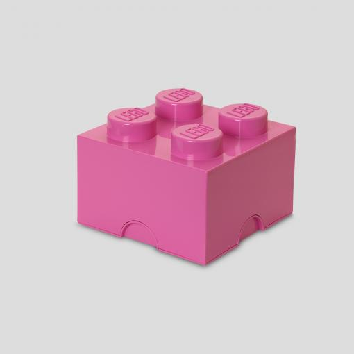 LEGO Storage Brick 4 (Bright Pink)
