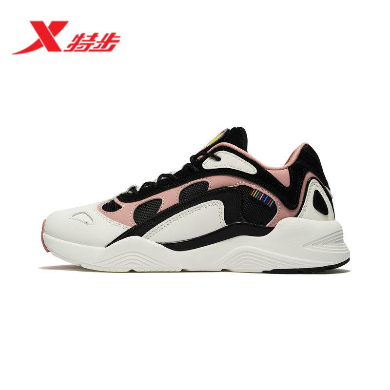 Xtep women Shoes OLdPAPA Shoes Spring Light Fashion Leisure Shoes Vintage  Korean Style Extra High Students 57b0cc9487