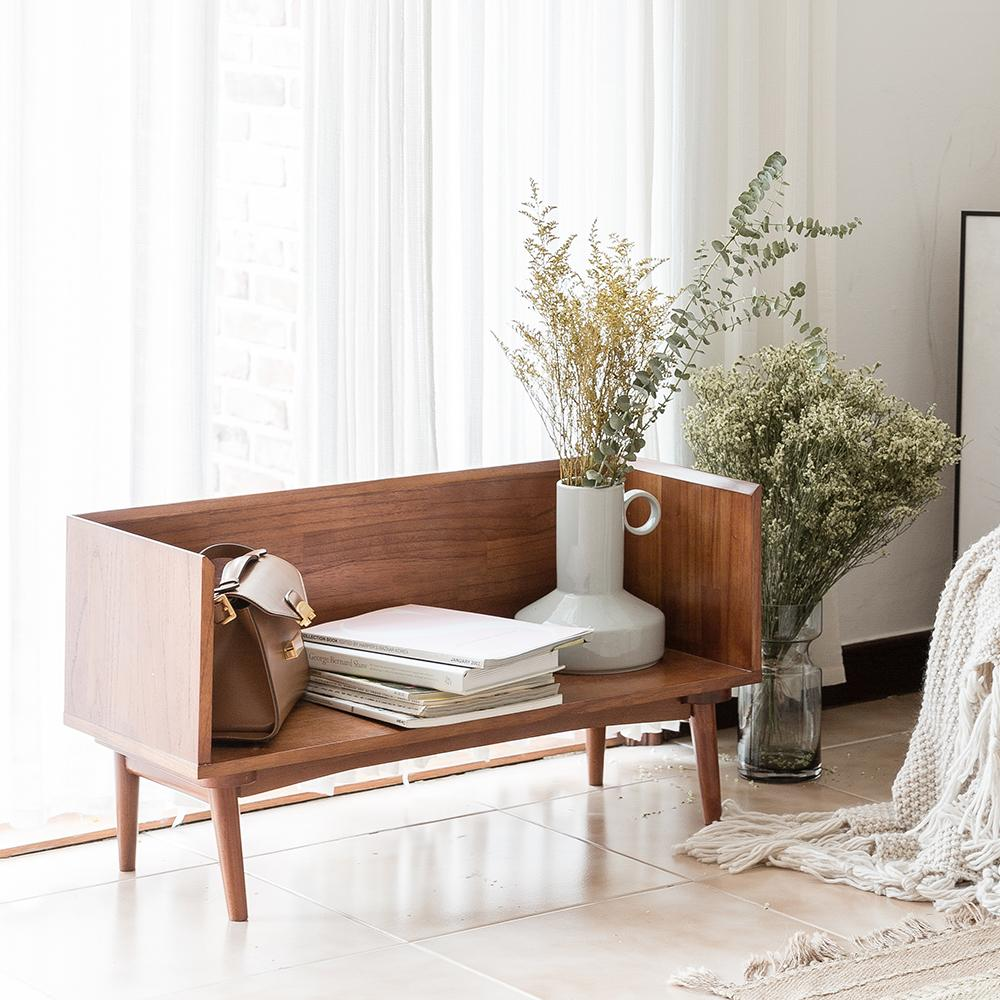 Fika Swedish Low Book Case & Magazine Table