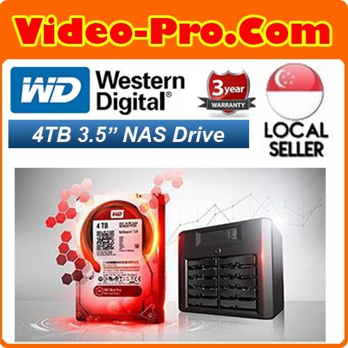 Compare Wd Red 4Tb Nas Hard Disk Drive 5400 Rpm Class Sata 6 Gb S 64 Mb Cache 3 5 Inch Wd40Efrx Prices