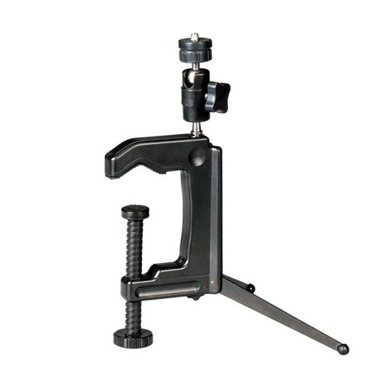 Mini Portable Camera Stand Camera Clamp Tripod 1/4 - 20 Screw Photograph Table Tripod Clamp Camera Stand For Dv Slr Vcr Camera - Intl By Kerno Store.
