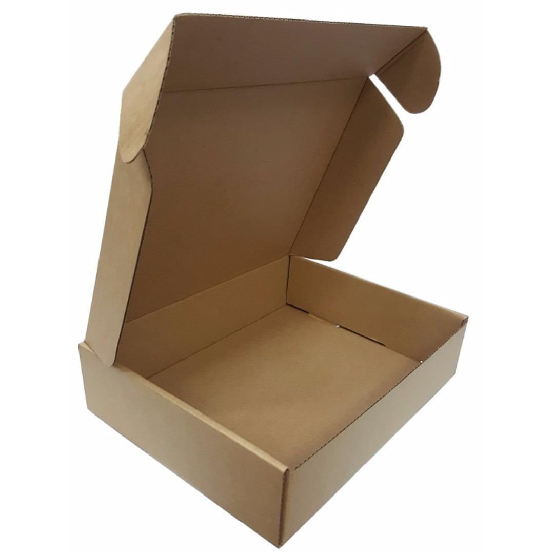 Sale Plain Kraft Packaging Box 230 X 175 X 55Mm Height 10 Pieces Pack On Special Offer Sgaa Cheap