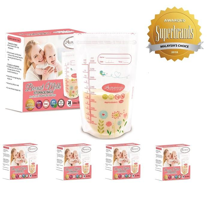 How Do I Get Autumnz Double Ziplock Breast Milk Storage Bag 12Oz 28 Bags Box 5 Boxes