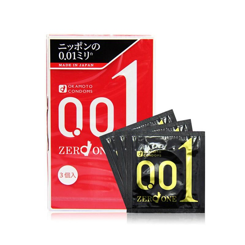 Store Okamoto Zero One 001 01 World Thinnest Japan Polyurethane Condom 3S Okamoto On Singapore