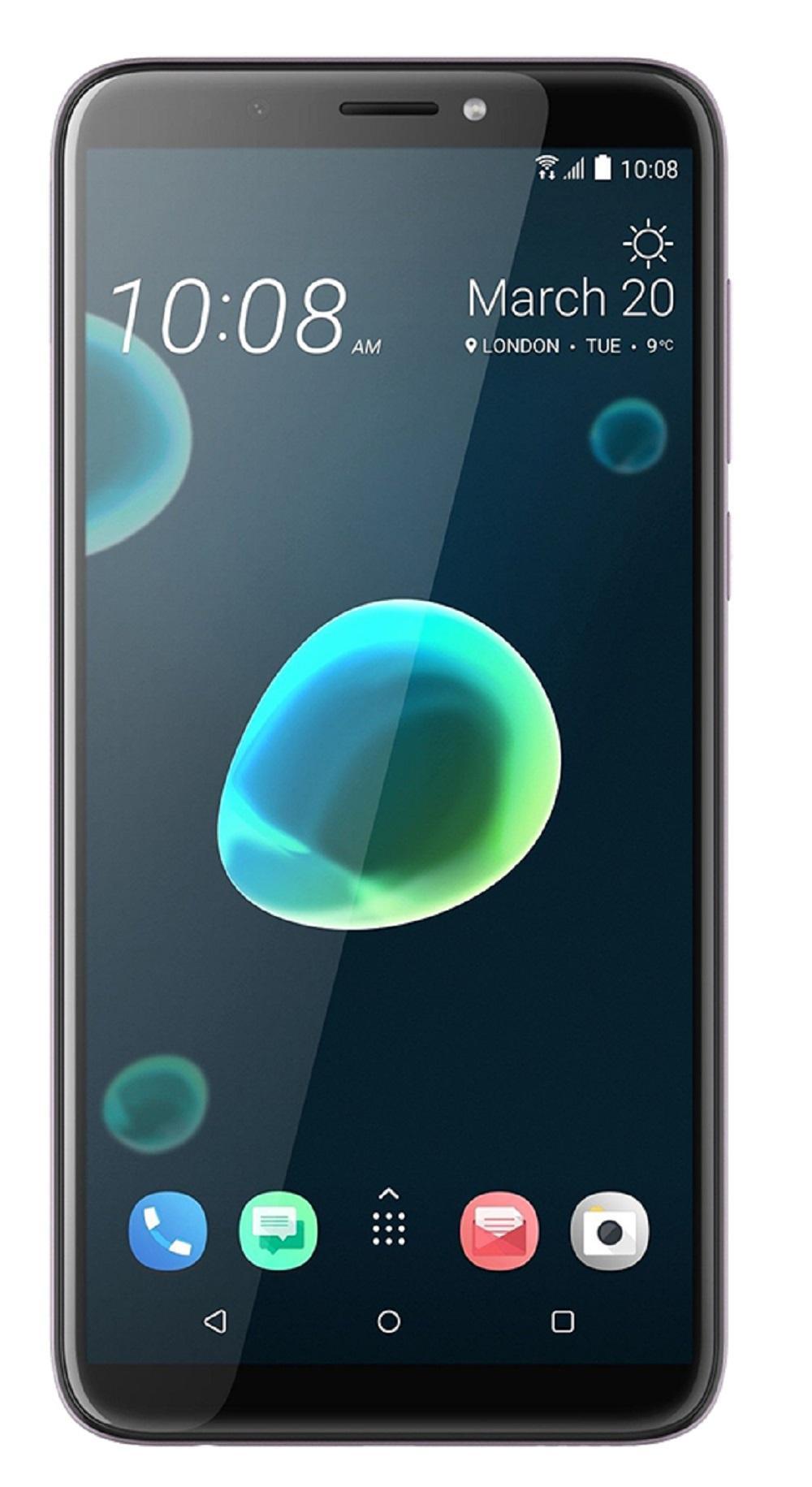 HTC Desire 12+ Plus 3GB Ram 32GB Rom Dual Sim - Warm Silver (Purple)