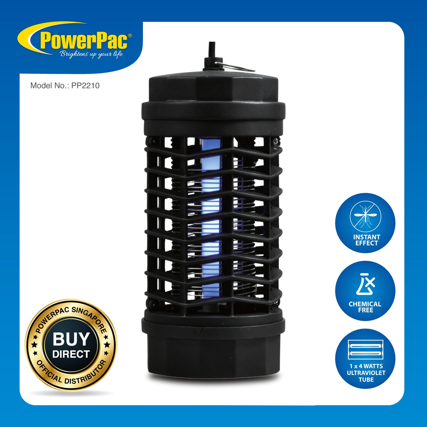 Who Sells Powerpac Electronic Insect Killer Kills Insect And Mosquitoes Instantly Pp2210