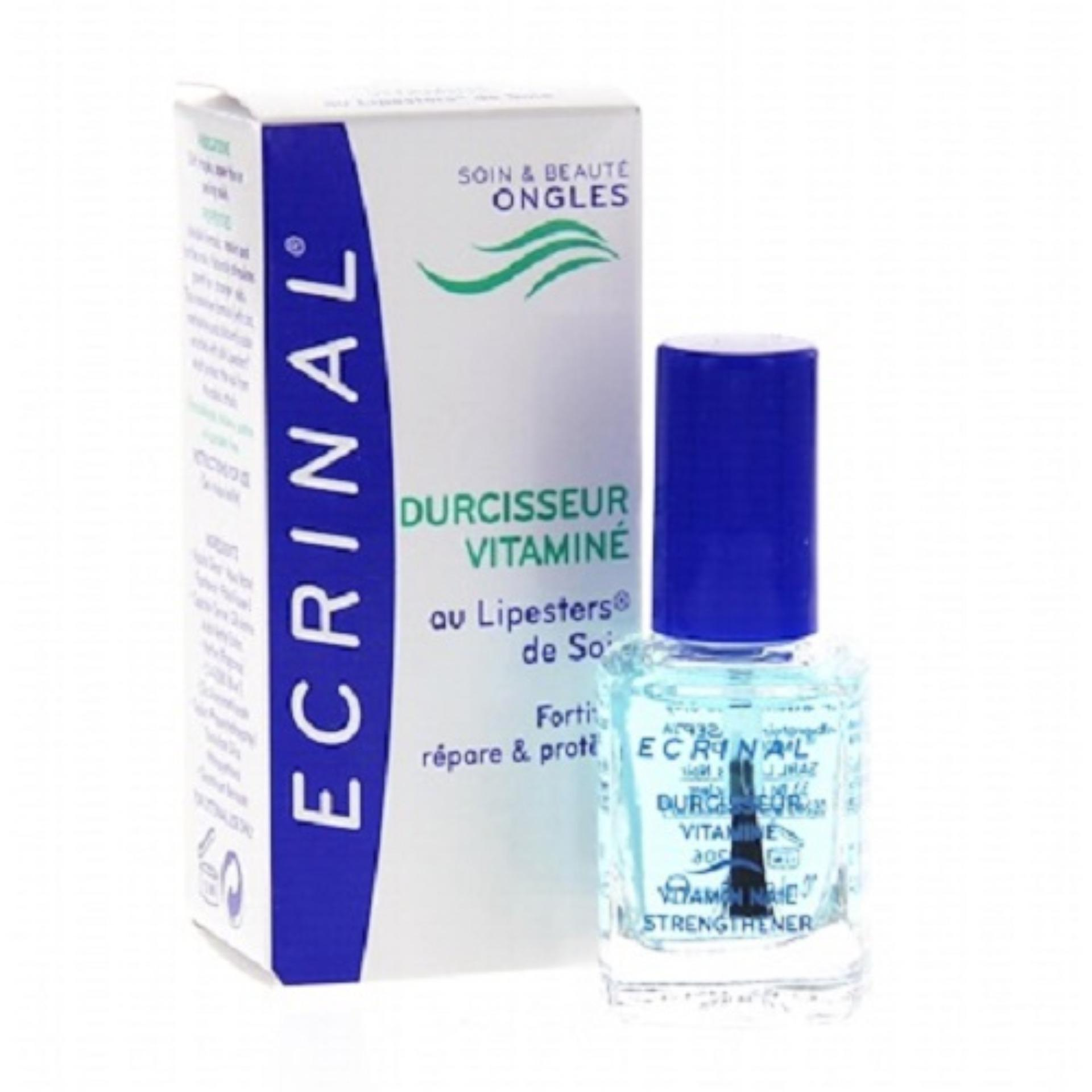 Ecrinal Vitamin Nail Strengthener By Johnnybeautyandnails.