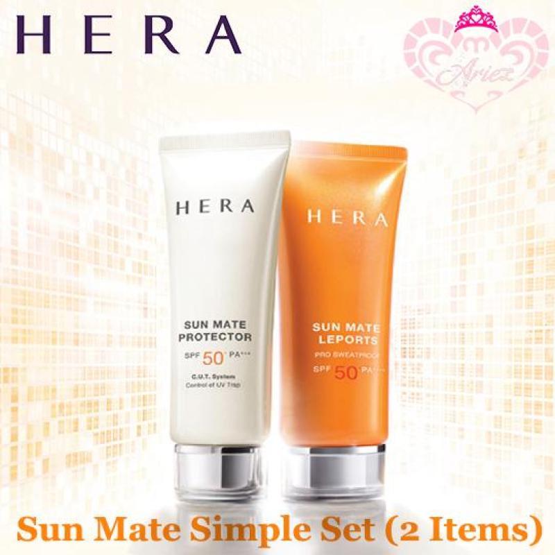 Buy *Ariez* Hera Sun Mate Simple Set (2 Items) (Korea Skincare Travel Sample) Singapore