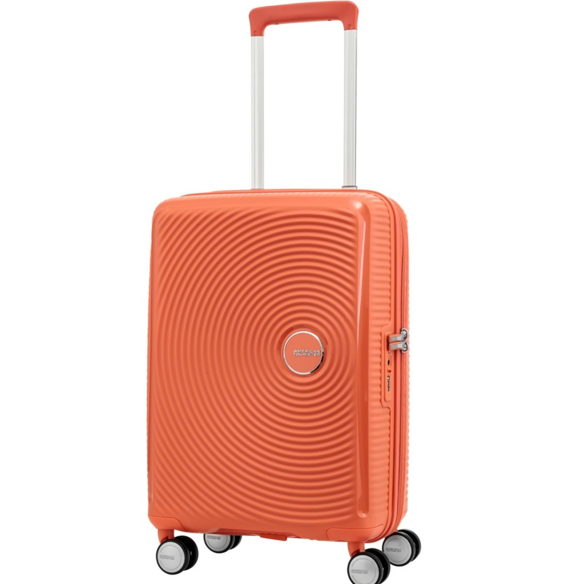 American Tourister Curio Spinner 55 20 Tsa Spicy Peach Compare Prices